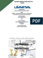 TAREA1...TEST PROYECTIVOS DE LA PERSONALIDAD