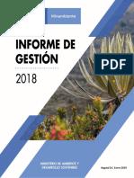 Informe_Gestión_MADS_2018__V.1.0