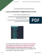 Identificación de archivos en imágenes forenses con sorter