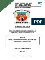 TDR Nº 004-2019-ELABORACION DEL EXPEDIENTE TECNICO_CETPRO_TOMAYKICHWA - Copy