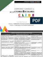 Perfil, Currícula y Bibliografía CLiDE pdf