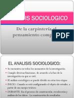 ANALISIS SOCIOLÓGICO