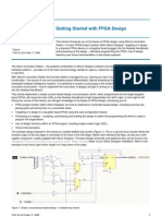 TU0116 Getting Started With FPGA Design