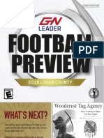 August 24, 2019 Football Preview