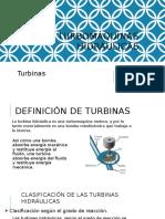 Expo. Turbomáquinas Hidráulicas Turbina
