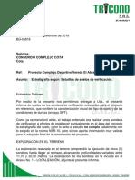 BG05818 Informe Cota Sondeos