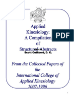 Aplicaciones Kinesiológicas, casos clínicos