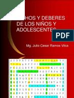 CODIGO DEL NIÑO Y ADOLESCENTE
