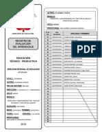 Registro De Evaluación 2019 - MODULO III