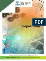 Revista Informador Técnico. Biopolímeros.