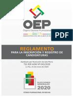 Reglamento Inscripcion Candidaturas