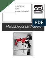 Metodología de  Trabajo Perforaciones - ARQSOLUTO