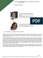 Capítulo 1 - Aspectos epidemiológicos do Diabetes Mellitus e seu impacto no indivíduo e na sociedade