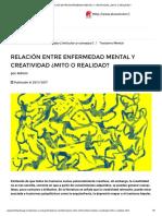 RELACIÓN ENTRE ENFERMEDAD MENTAL Y CREATIVIDAD ¿MITO O REALIDAD_.pdf