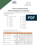 CIRCULAR MAS.01-19 NORMATIVA GENERAL MASTER