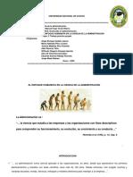 Grupo N° 2 Enfoque Humanista en la ciencia  administración
