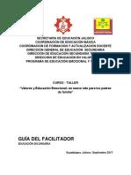 1VFCURSO-TALLER SECUNDARIAS VALORES Y EDUCACIÓN EMOCIONAL