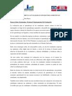 Ensayo Sobre Tecnica, Instrumentos y Estrategia de Evaluacion