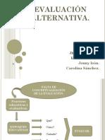 Evaluación-alternativa