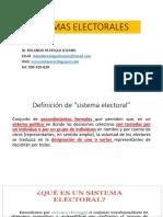 SISTEMAS ELECTORALES.ppt