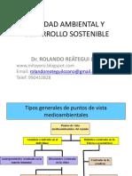 CALIDAD AMBIENTAL Y DESARROLLO SOSTENIBLE