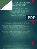 APLICACIONES (ENFOQUE DETERMINISTICOS).pptx