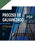 Proceso de Galvanizado