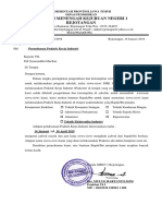 PT ADVANTAGE SCM -SURAT PERMOHONAN PRAKERIN