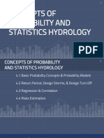 BASIC CONCEPTS OF PROBABILITY AND STATISTICS HYDROLOGY