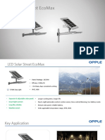 PPT-LED Solar Street Light EcoMax Series(20W&30W)