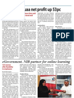 eGovernment, NIB partner for online learning - TBW May 25 - Banking and Finance