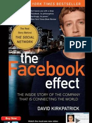 The Facebook Effect by David Kirkpatrick | Mark Zuckerberg | Facebook