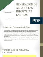 GENERACIÓN DE AGUA EN LAS INDUSTRIAS LACTEAS (2)