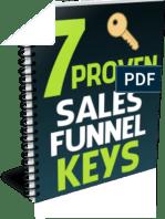 7 Proven Sales Funnel Keys