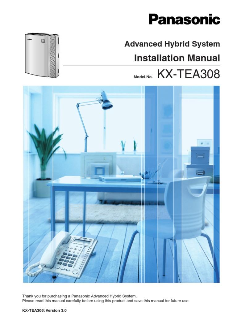 Panasonic kx-tea308 telephone engineer questions answered.