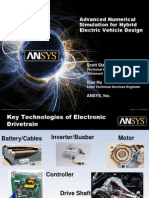 Advanced Numerical Simulation for Hybrid Electric Vehicle Design 1