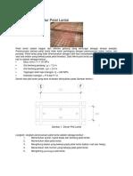 Perhitungan Struktur Pelat Lantai