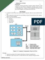 CS8493 OPERATING SYSTEMS - UNIT I
