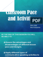 2. Classroom Pace.pptx