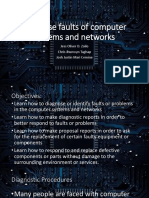 Diagnose faults of computer systems and networks.pptx