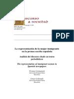 [S6] Castagnani, T. & Colorado, C. (2009). La representación de la mujer inmigrante...