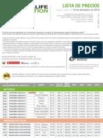 lista de precios herbalife