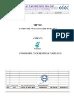 Hydro Test Procedure E2-EKG