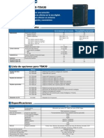 Panasonic - Kxtda30_specif