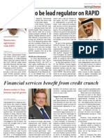 Financial services benefit from credit crunch - TBW June 29 - Banking and Finance