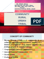 URT Communities & their Issues