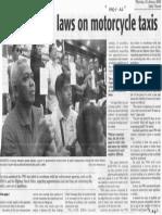 Daily Tribune, Jan. 30, 2020, House seeks laes on motorcycle taxis.pdf