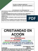 CRISTIANDAD EN ACCION