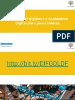 Habilidades digitales y ciudadanía digital preschoolers
