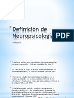 INTRO definicion de neuropsic e historia de la evaluacion